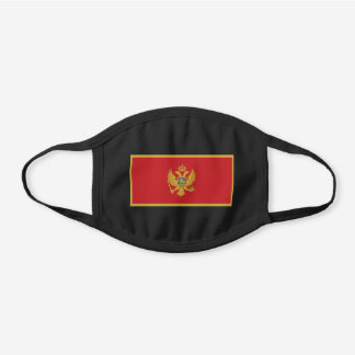 Montenegro Flag Cotton Face Mask