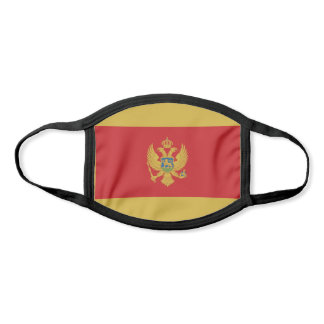 Montenegro Flag Face Mask
