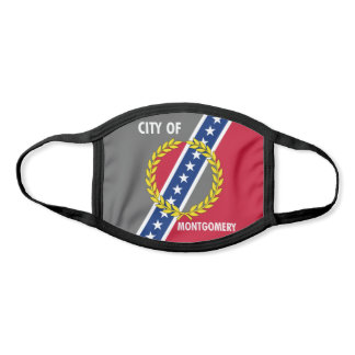 Montgomery, Alabama City Flag Face Mask