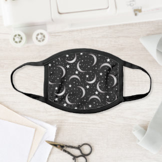 Moon and Stars Face Mask