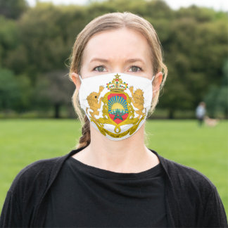 Morocco Coat of Arms Adult Cloth Face Mask