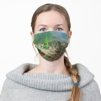 Mossy Frog Adult Cloth Face Mask