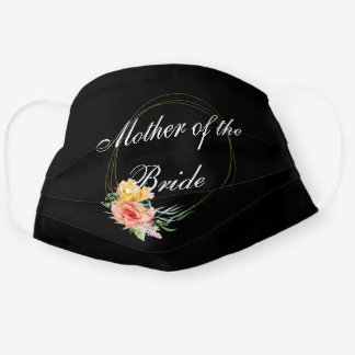 Mother of the Bride Customize Wedding Cloth Face Mask