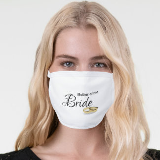 Mother of the Bride Gift Ideas Face Mask