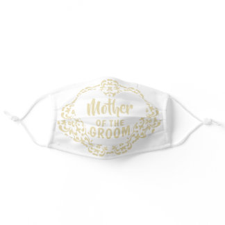 Mother Of The Groom Elegant Wedding Masks