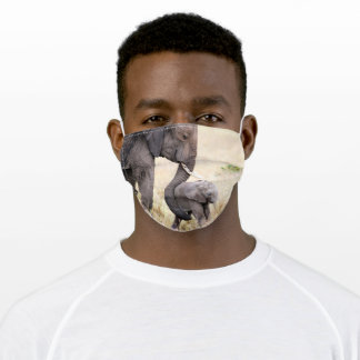 Motherly love photo adult cloth face mask