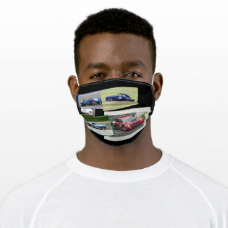 Motor Racing Adult Cloth Face Mask