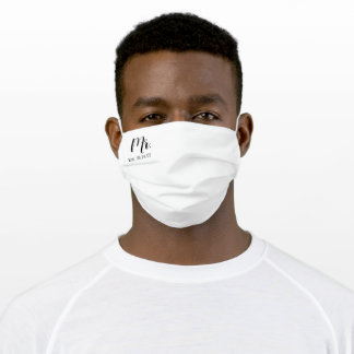 Mr. Adult Cloth Face Mask