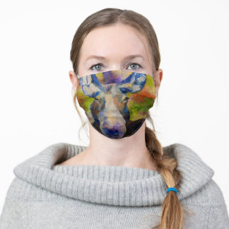 Mr. Moosey Moose Adult Cloth Face Mask