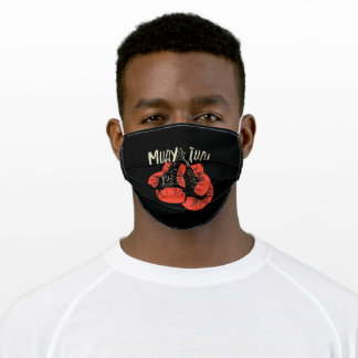Muay Thai Boxing Adult Cloth Face Mask