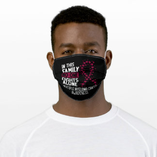 Multiple Myeloma Cancer Awareness Adult Cloth Face Mask