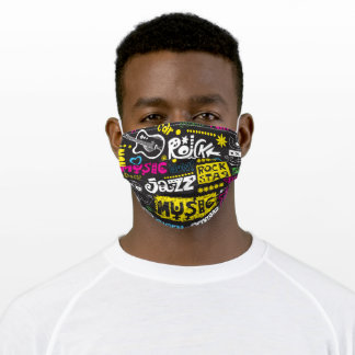 Music Lovers Adult Cloth Face Mask