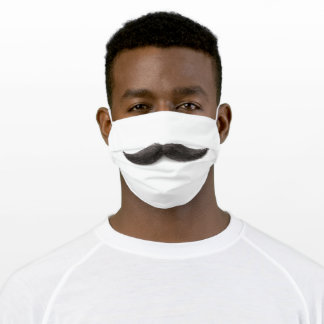 Mustache Adult Cloth Face Mask