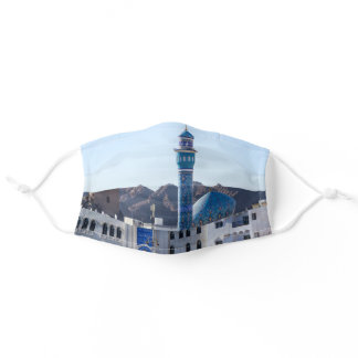 Muttrah Mosque - Muscat, Oman Adult Cloth Face Mask