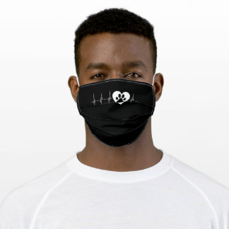 My Heart Beats for Pets Adult Cloth Face Mask