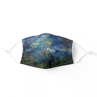 Mystical Celestial Forest Adult Cloth Face Mask