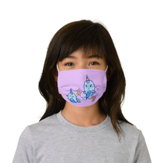 Narwhal Kids' Cloth Face Mask