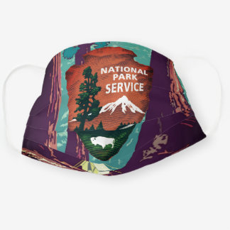 National Park Service Sequoia National Park Cloth Face Mask