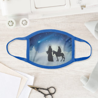 Nativity Christmas Face Mask