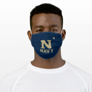 Naval Academy Logo Adult Cloth Face Mask