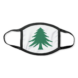 Naval and Maritime Flag of Massachusetts Face Mask
