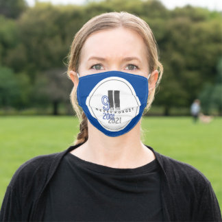 Never Forget 911 Grey World Trade Center Adult Cloth Face Mask