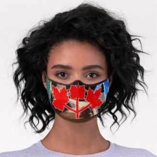 New Canadian Flag Mask