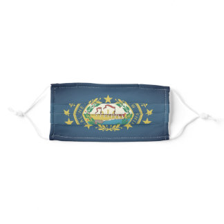 NEW HAMPSHIRE Flag - Adult Cloth Face Mask