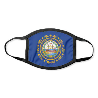 New Hampshire State Flag Face Mask
