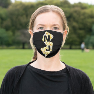 NEW JERSEY ADULT CLOTH FACE MASK