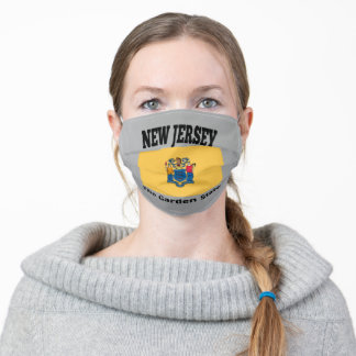 New Jersey flag Adult Cloth Face Mask
