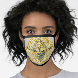 'New Journey,'- Face Mask