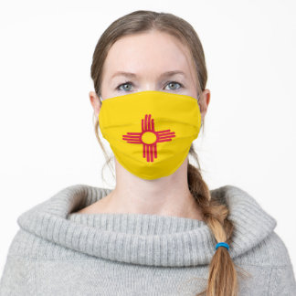 New Mexico flag Adult Cloth Face Mask
