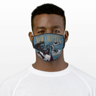 New Orleans Music face mask