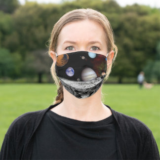 New Solar System Adult Cloth Face Mask