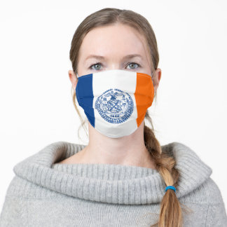New York City Flag Unisex Adult Cloth Face Mask