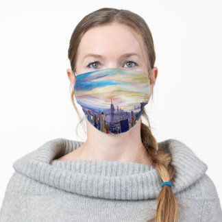 New York City Skyline Adult Cloth Face Mask