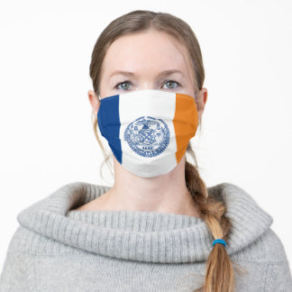 new york city usa country flag symbol nation unite adult cloth face mask