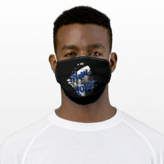 New York City USA Train Adult Cloth Face Mask