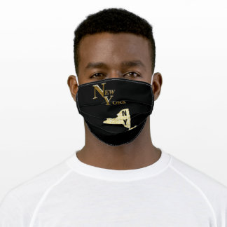 NEW YORK NY ADULT CLOTH FACE MASK