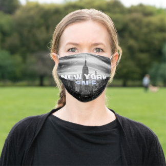 New York Safe Adult Cloth Face Mask