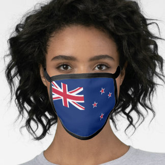 New Zealand Flag Face Mask