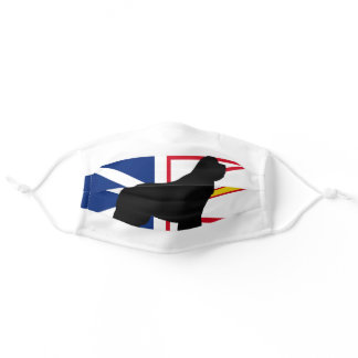 newfie silo on Flag_of_Newfoundland_and_Labrador.p Adult Cloth Face Mask