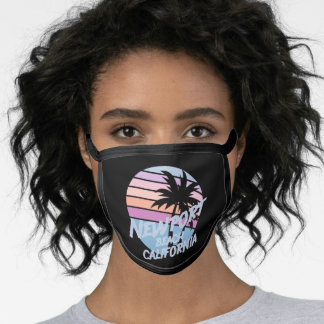 Newport Beach California Face Mask