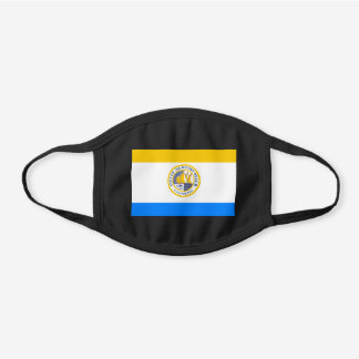 Newport Beach, California Flag Cotton Face Mask