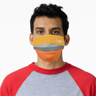 Nice Colorful Striped Pattern  Adult Cloth Face Mask