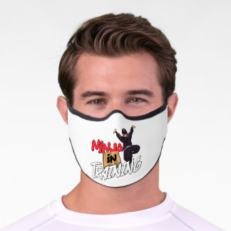 Ninja In Training Martial Arts Karate Premium Face Mask