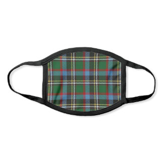 North Carolina State Clan Tartan Plaid Pattern Face Mask