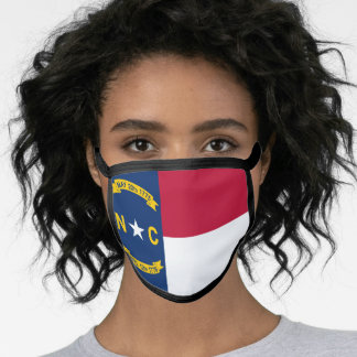 North Carolinian flag, American state flag Face Mask