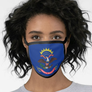 North Dakotan flag, American state flag Face Mask